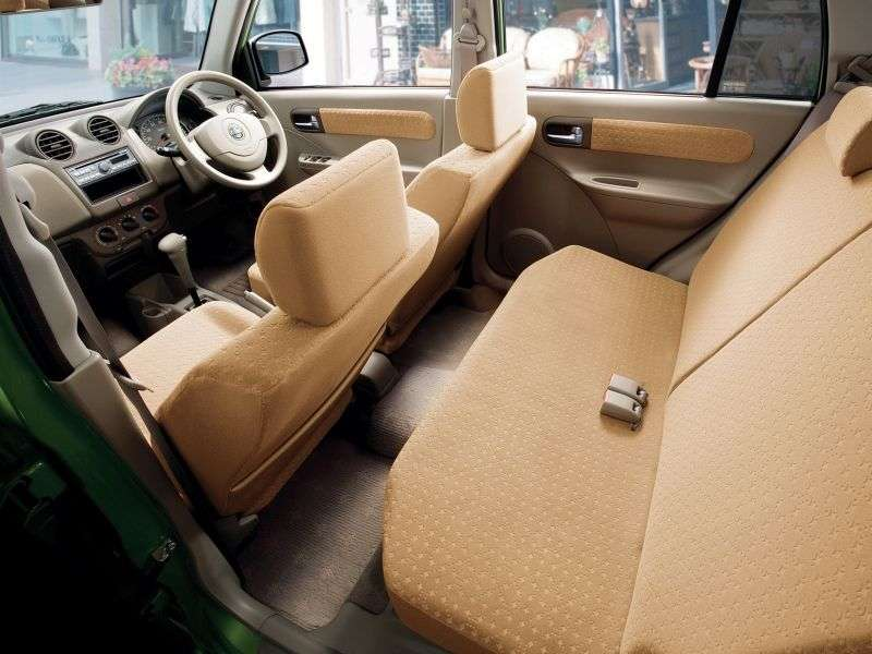 Nissan Pino hatchback 1.generacji 0.7 MT (2007 2010)
