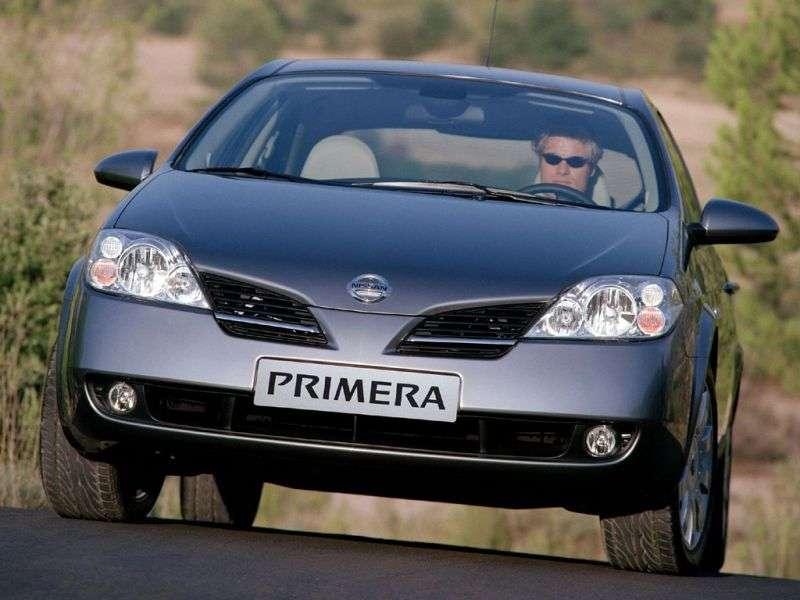 Nissan Primera P12liftback 2.5 CVT (2002–2007)