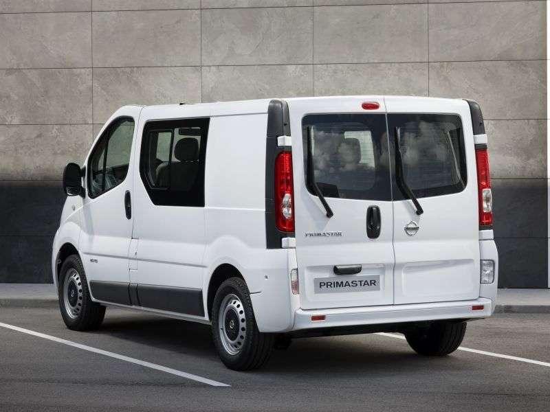Nissan Primastar 1st generation [restyled] Combi van 2.0 Turbo dCi MT L2H1 6seat (2006 – present)