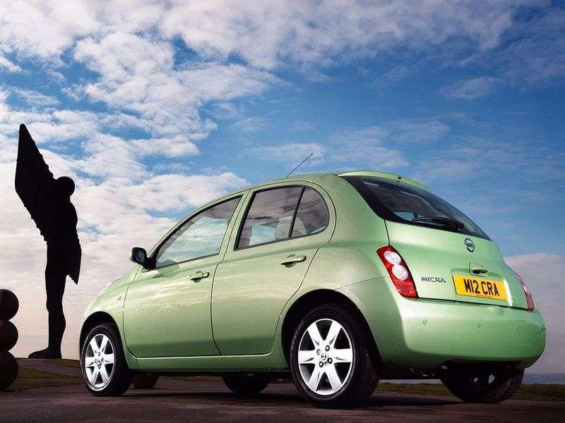 Nissan Micra K12htchbek 5 doors 1.0 MT (2003–2005)