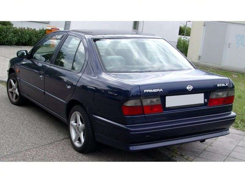 Nissan Primera P10 [restyling] sedan 2.0 D MT (1993–1996)