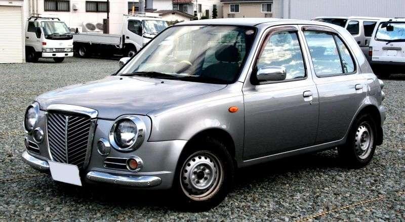 Nissan March K11 [restyling] Bolero hatchback 5 dv. 1.3 CVT (1997–2002)