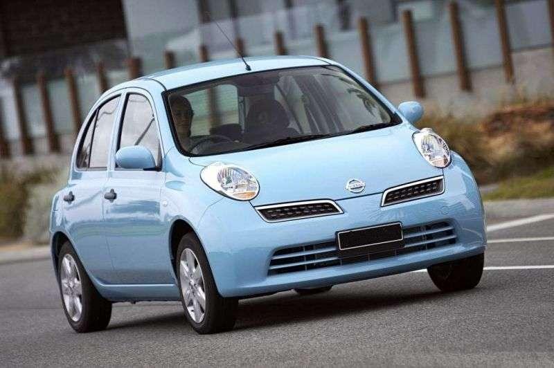 Nissan March K13htchbek 5 dv. 1.5 D MT (2007–2010)