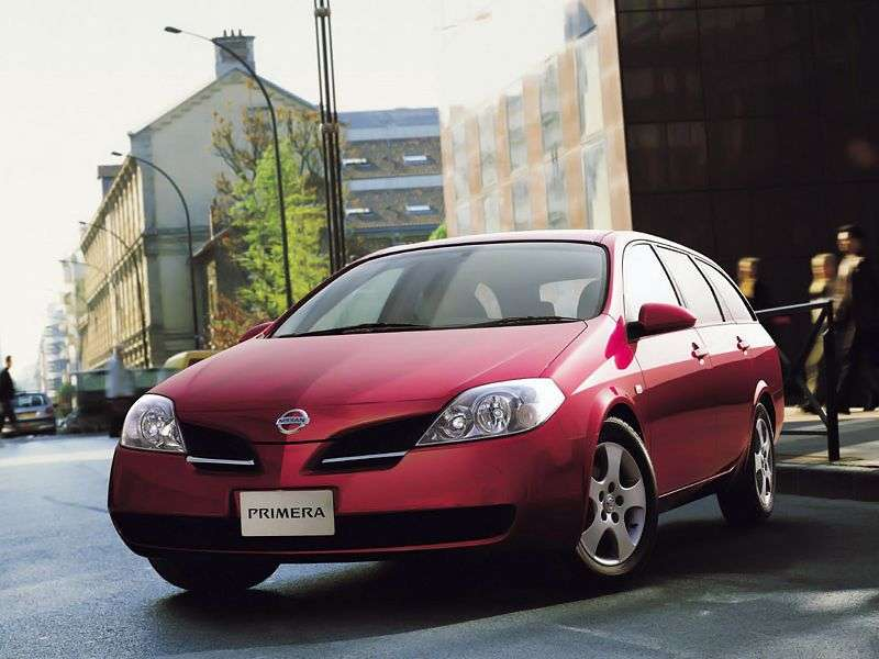 Nissan Primera P12universal 2.0 MT (2002–2008)
