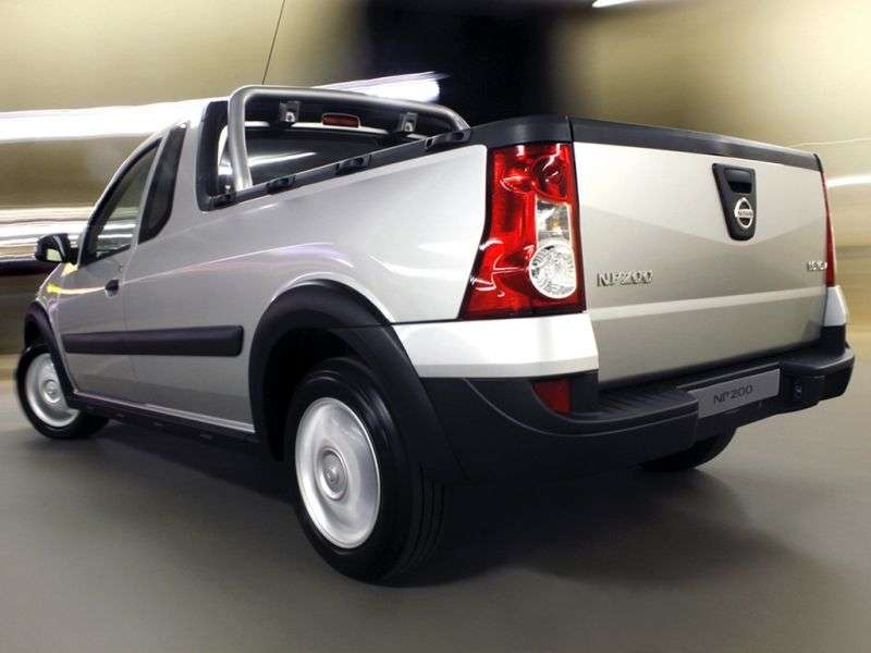 Nissan NP200 1st generation [restyling] pickup 1.6 MT (2009 – n.)