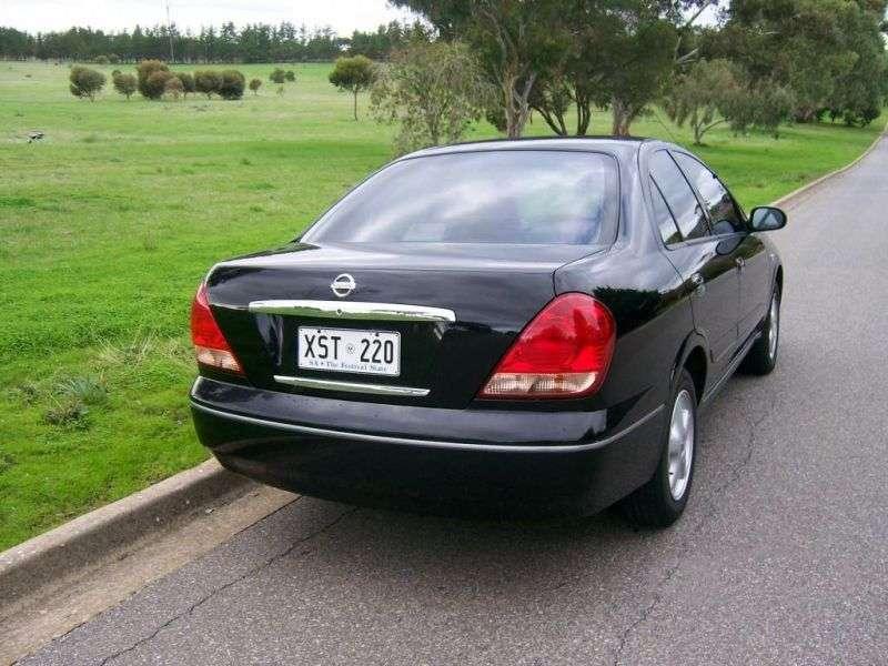Nissan Pulsar N16 [restyling] sedan 1.8 AT (2004–2005)