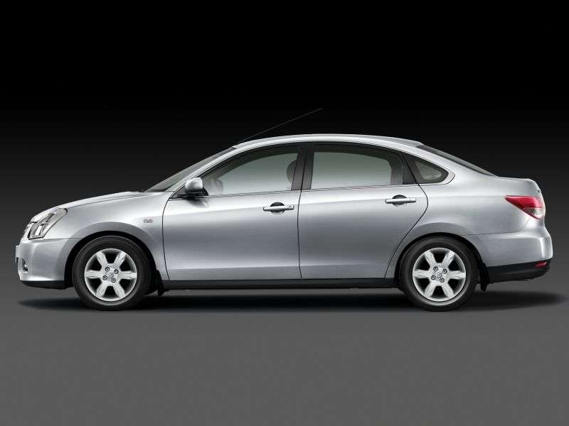 Nissan Almera G11 sedan 1.6 AT Tekna (     ) (2013) (2012 – current century)