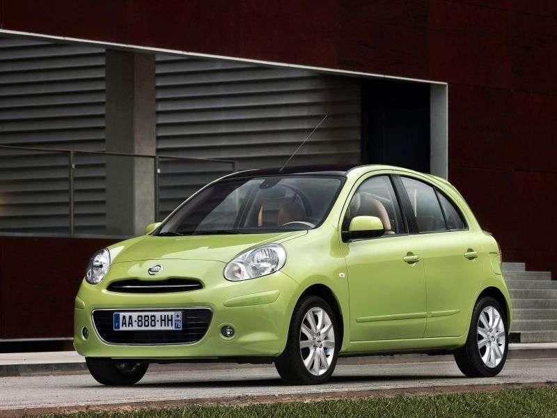 Nissan Micra K13htchbek 1.2 MT (2010 – n.)