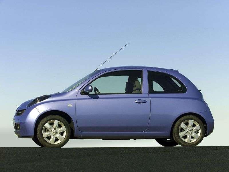 Nissan Micra K12htchbek 3 dv. 1.2 MT (2005–2010)