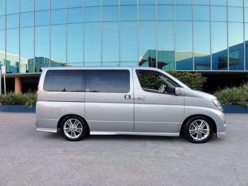 Nissan Elgrand E51ME51 Rider minivan 5 dv. 3.5 AT (2003–2007)