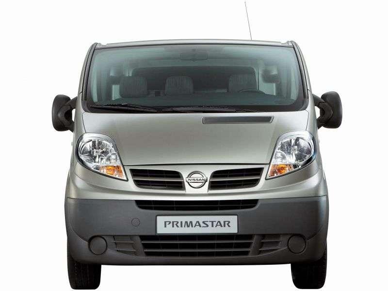 Nissan Primastar 1st generation [restyled] van 2.0 Turbo dCi MT L1H2 (2006 – n.)