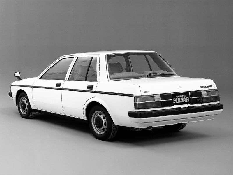 Nissan Pulsar N12 sedan 1.5 MT (1982–1986)
