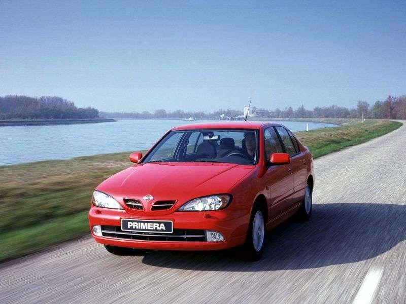 Nissan Primera P11 [restyling] 1.8 MT sedan (1999–2002)