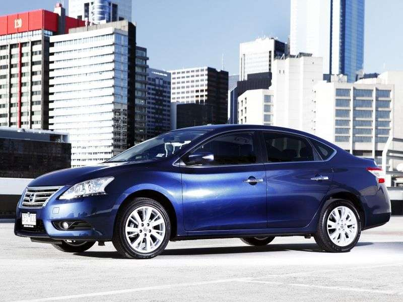 Nissan Pulsar NB17sedan 1.8 Xtronic (2013 – n. In.)