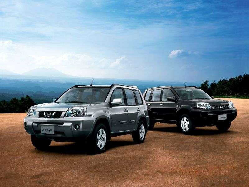 Nissan X Trail T30 [restyling] 2.5 AT crossover (2004–2007)