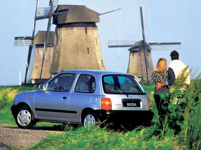 Nissan Micra K11htchbek 3 dv. 1.0 CVT (2000–2002)