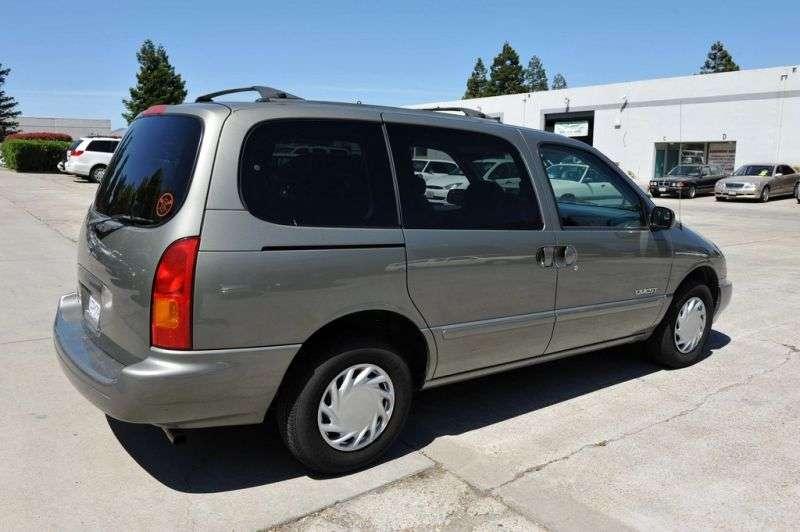 Nissan Quest 2nd generation minivan 3.3 AT (1998–2000)