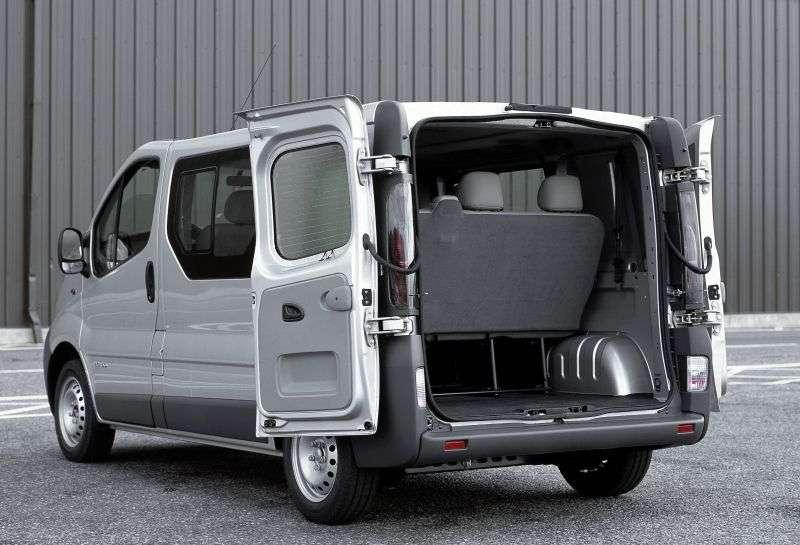 Nissan Primastar 1st generation [restyling] Minibus 2.0 Turbo dCi MT L1H1 (2006 – n.)