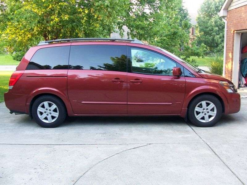 Nissan Quest 3rd generation [restyled] minivan 3.5 AT (2007–2009)
