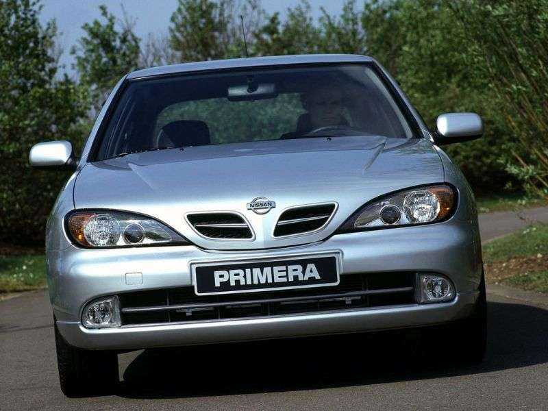 Nissan Primera P11 [restyling] liftback 2.0 AT (1999–2002)