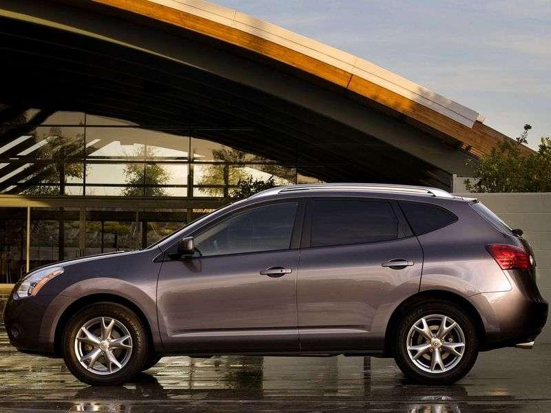 Nissan Rogue 1st generation crossover 2.5 CVT 4WD (2007–2010)