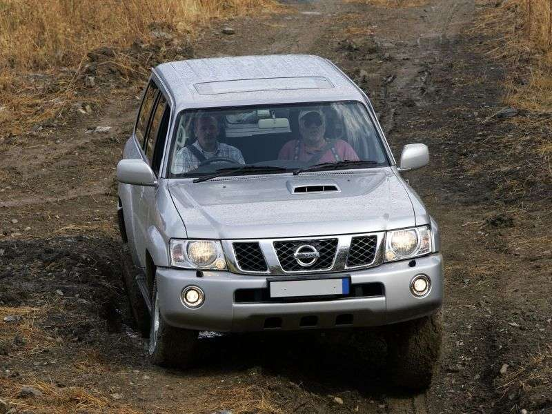 Nissan Safari Y61 [restyled] universal 4.8 4WD AT (2004–2007)