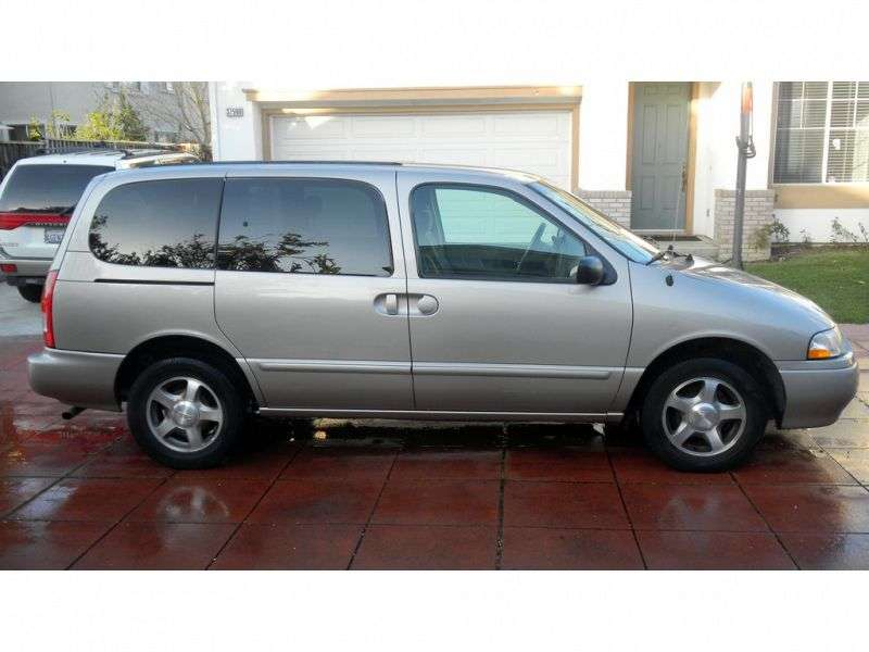 Nissan Quest 2nd generation [restyled] minivan 3.3 AT (2000–2002)