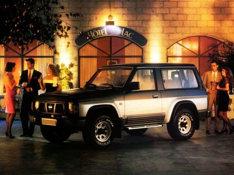 Nissan Safari 161wagon 3 drzwiowy 4,2 D 4WD AT (1991 1992)