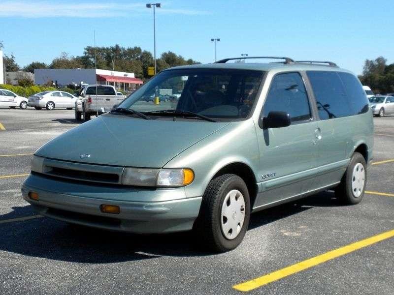 Nissan Quest 1st generation minivan 3.0 AT (1993–1996)