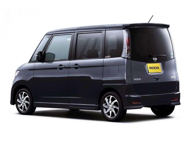 Nissan Roox 1st generation Highway star minivan 5 dv. 0.7 CVT 4WD (2009 – present)