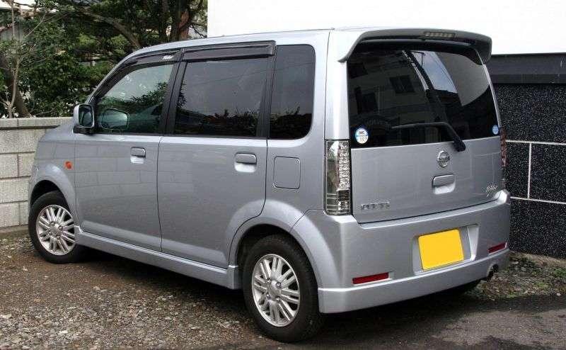 Nissan Otti H92WRX hatchback 0.7 T AT (2006 – current century)