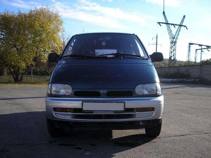 Nissan Serena C23 Minivan 2.3 D AT 4WD (1993–1994)
