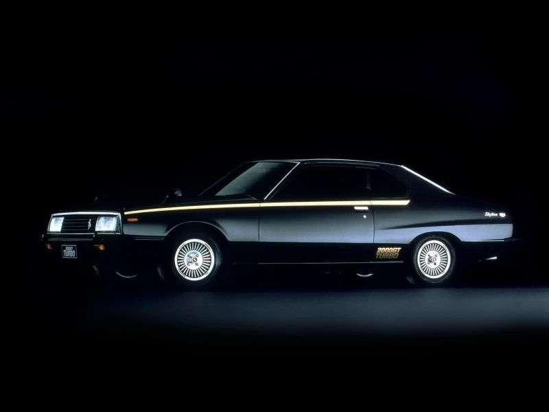 Nissan Skyline C210Turbo coupe 2 bit. 2.0 Turbo MT (1980–1981)