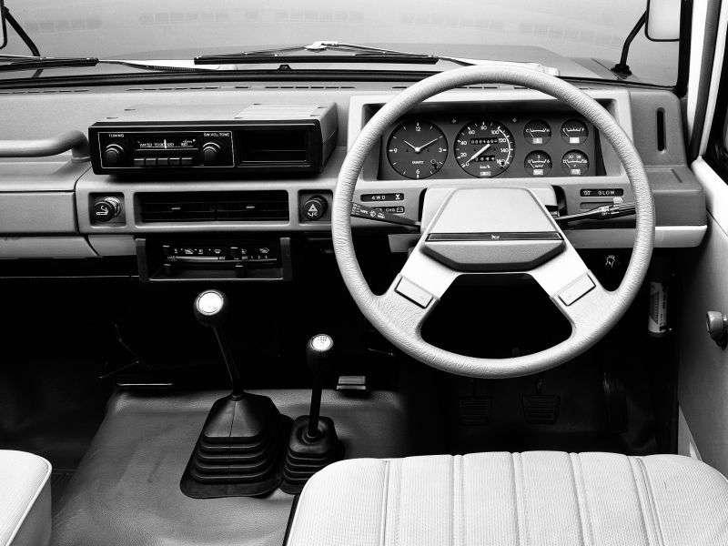 Nissan Safari 160Hard Top pickup 2 bit. 3.2 D 4WD MT (1980–1983)