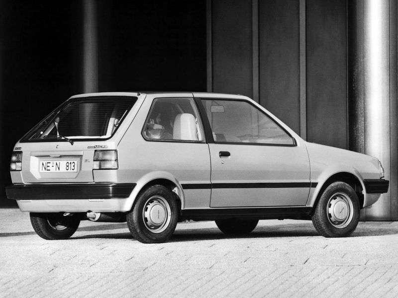 Nissan Micra K10khhetchbek 3 dv. 1.0 MT GSX (1982–1989)