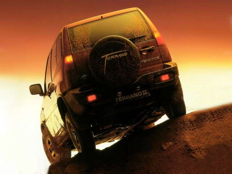 Nissan Terrano R20 3 bit off road vehicle 2.4 MT 4WD (1993–1996)