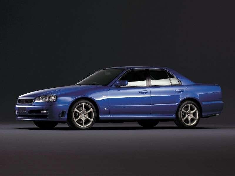 Nissan Skyline r34edan 2.5 Turbo AT (1998–2001)