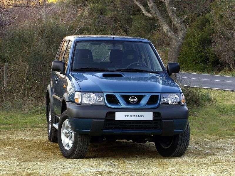 Nissan Terrano R20 [2nd restyling] SUV 3 dv. 3.0 TDi MT (2001–2004)