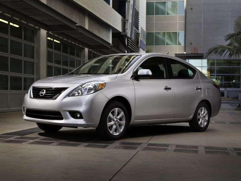 Nissan Versa 2nd generation sedan 1.6 CVT (2011 – n. In.)