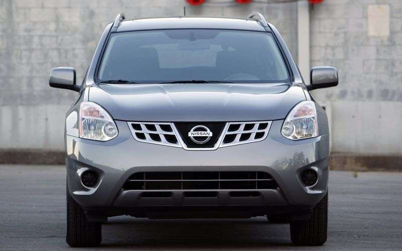 Nissan Rogue 1st generation [restyling] 2.5 CVT crossover (2010 – current century)
