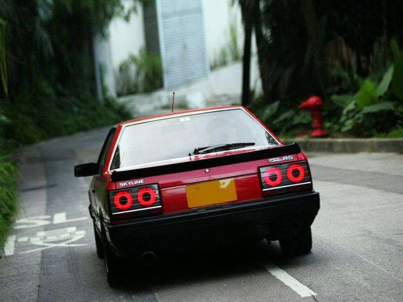 Nissan Skyline R30RS X Coupe 2 doors 2.0 MT (1984–1985)
