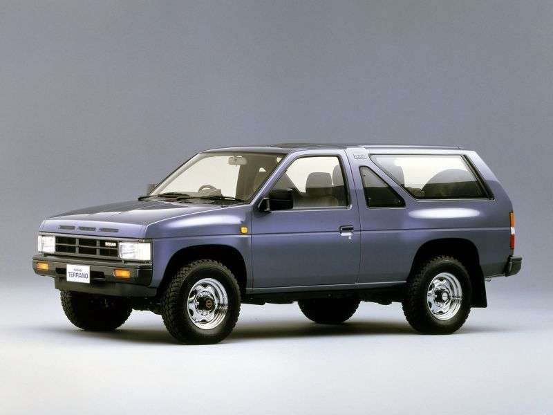 Nissan Terrano WD21 off road 3 dv. 2.7 TD 4WD AT wide (1993–1995)