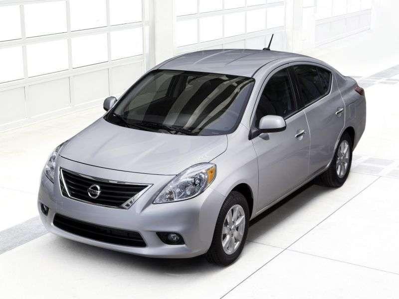 Nissan Versa 2 generation sedan 1.6 MT (2011 – n. In.)