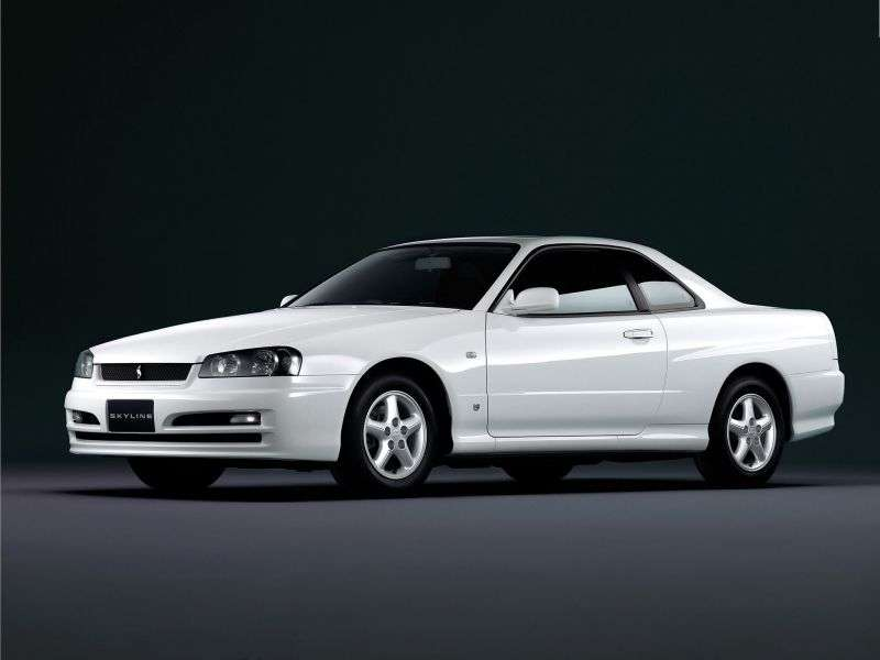 Nissan Skyline r34GT coupe 2 dv. 2.0 MT (1998–2002)