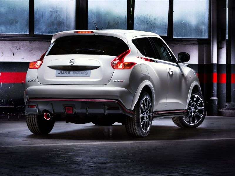 Nissan Juke YF15Nismo 5 bit crossover. 1.6 DIG T MT Basic (2013) (2013 – current century)