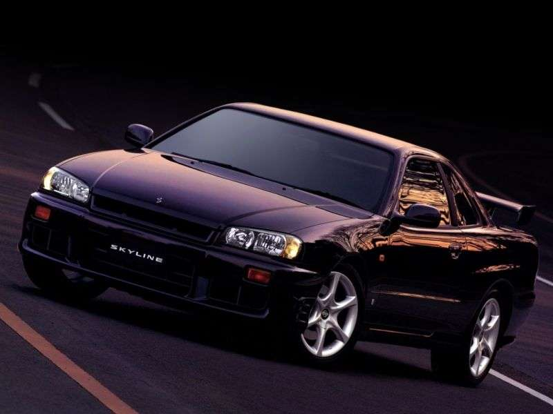 Nissan Skyline r34GT coupe 2 dv. 2.5 AT 4WD (1998–2002)