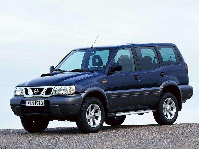 Nissan Terrano R20 [2nd restyling] SUV 5 dv. 3.0 TDi AT (2001–2004)