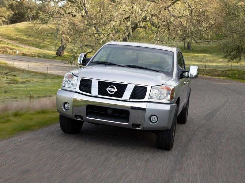 Nissan Titan 1st generation Crew Cab pickup 5.6 AT LWB 4WD (2007 – current century)