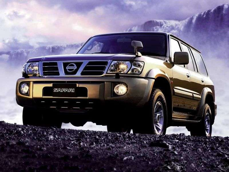 Nissan Safari Y61 Universal 2.8 D T 4WD AT (1997–2000)