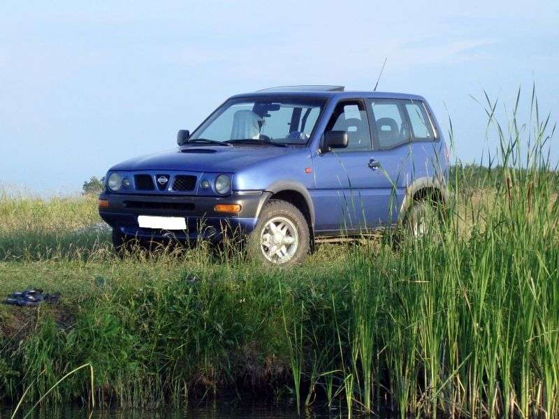 Nissan Terrano R20 [restyling] 3 dv SUV 2.7 TDi MT (1996–1999)